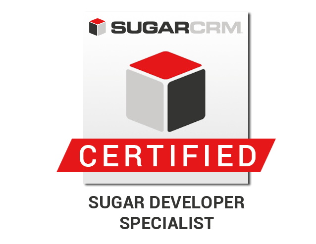 SUGAR DEVELOPER SCPECIALIST