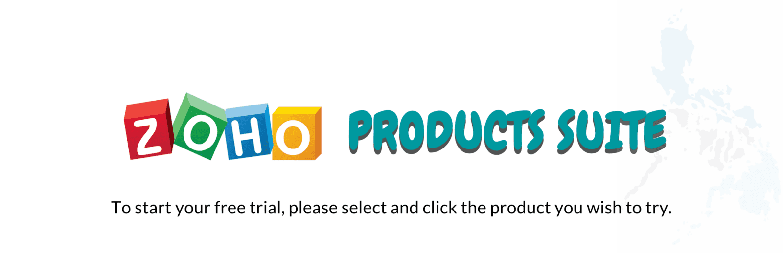 Zoho Products Suite